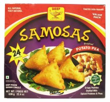 DEEP 24POTATO PEAS SAMOSA