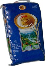 DEEP BASMATI RICE 10LB