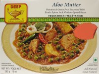 DEEP FOODS ALOO MUTTER 10OZ.