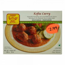 DEEP FOODS KOFTA CURRY 10OZ.
