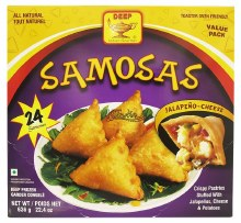 DEEP JALAPENO SAMOSA 24PC