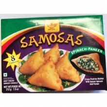 DEEP SPINACH -PANEER SAMOSAS 8PCS