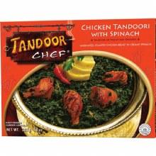 TANDOOR CHICKEN W SPINACH