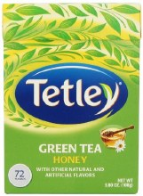 TETLEY GREEN TEA HONEY