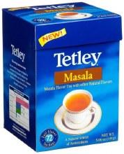 TETLEY MASALA TEA BAGS 144GM