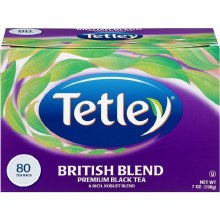 TETLEY TEA BAGS BRITISH BLEND 80 CT