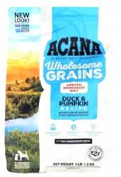 Acana Wholesome Grains Duck and Pumpkin Formula  4lb