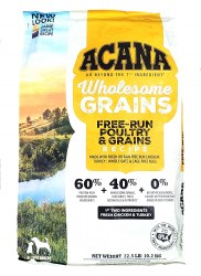 Acana Free-Run Poultry with Grains Recipe 25lb