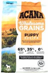 Acana Wholesome Grains Puppy Recipe 11.5lb