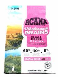 Acana Wholesome Grains Small Breed Recipe 4lb