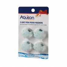 Aqueon Tropical or Goldfish Vacation Three Day Feeders 4 Pack