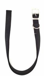 "Coastal Black 2-Ply Nylon Collar 22"""