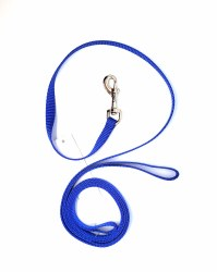 "Coastal Blue 6 Foot Nylon Leash 3/8"""