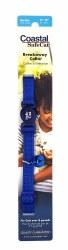 "Coastal Cat Breakaway Blue Collar with Bell 8""-12"""