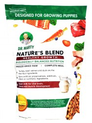 Dr. Marty Nature's Blend Healthy Growth Puppy Freeze Dried Recipe 16oz
