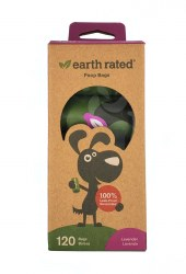 Earth Rated Lavender Poop Bags 12ct