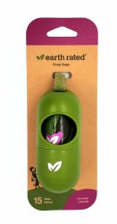 Earth Rated Lavender Poop Bag Dispender 15ct