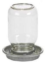 Miller 1 Quart Mason Jar Baby Chicker Waterer