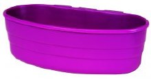 Miller 1 Pint Plastic Cage Cup Purple