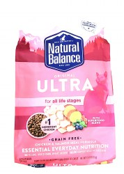 Natural Balance Original Ultra Grain Free All Life Stages Chicken and Salmon Meal Formula 15lb