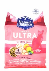 Natural Balance Original Ultra Grain Free All Life Stages Chicken and Salmon Meal Formula 6lb