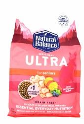 Natural Balance Original Ultra Grain Free Senior Chicken and Salmon Meal Formula 6lb