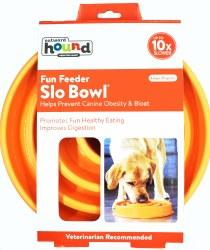 Outward Hound Fun Feeder Slow Bowl Large Orange