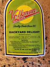 Volkman Seed Factory Backyard Delight 20lb