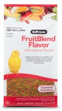 ZuPreem FruitBlend Flavor with Natural Flavor for Very Small Birds 14oz