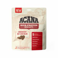 Acana High Protein Crunchy Beef Liver Treats for Small to Medium Dogs 9oz