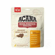 Acana High Protein Crunchy Chicken Liver Treats for Small to Medium Dogs 9oz
