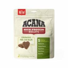 Acana High Protein Crunchy Pork Liver Treats for Small to Medium Dogs 9oz
