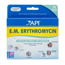 API E.M. Erthryomycin Pwder 10 Pack