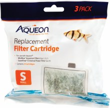 Aqueon Replacement Filter Cartridge Small 3 Pack
