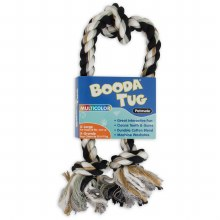 "Booda 3-Knot Mullti-Color Tug Rope Dog Toy 18"""
