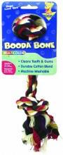 "Booda Multi-Colored Rope Bone Medium 10"""