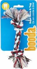 """Booda Multi-Colored Rope Bone X-Small 8"""""""