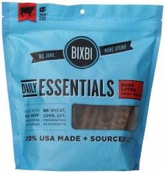 Bixbi Immune Support Beef Liver Jerky Treats 5oz