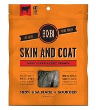 Bixbi Skin & Coat Beef Liver Jerky 5oz