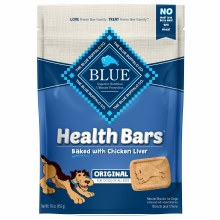Blue Health Bars Baked with Chicken Liver 16oz