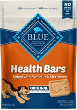 Blue Health Bars Baked with Pumpkin and Cinnamon 16oz