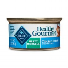 Blue Buffalo Adult Cat Meaty Morsels Chicken 3oz