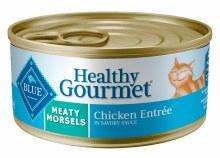 Blue Buffalo Adult Cat Meaty Morsels Chicken 5oz