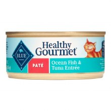 Blue Buffalo Adult Cat Oceanfish and Tuna Pate 5.5oz