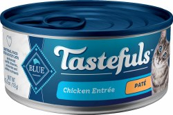 Blue Buffalo Tastefuls Chicken Pate with Brown Rice 5.5oz