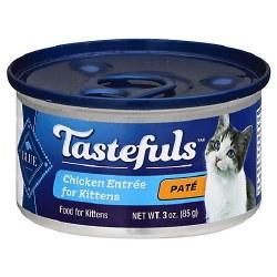 Blue Buffalo Tastefuls Kitten Chicken Pate with Brown Rice 3oz