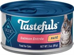 Blue Buffalo Tastefuls Salmon Pate with Brown Rice 3oz