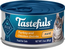 Blue Buffalo Tastefuls Turkey and Chicken Pate with Brown Rice 3oz