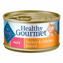 Blue Buffalo Adult Cat Turkey and Chicken Pate 5.5oz
