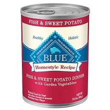 Blue Buffalo Adult Dog Fish and Sweet Potato 12.5oz